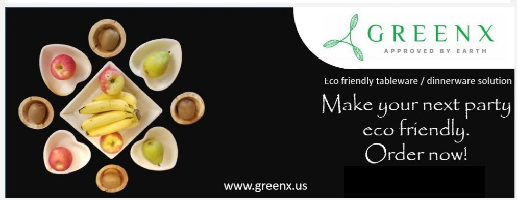 GREENX Eco Friendly tableware