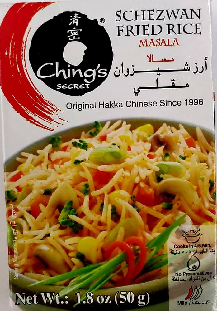 Chings Schezwan Fried Rice Masala - 50 Gms