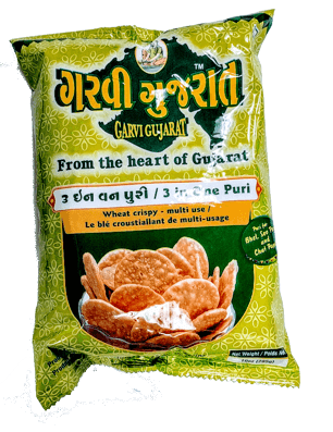 Garvi Gujarati 3 in one Puri - 10 Oz