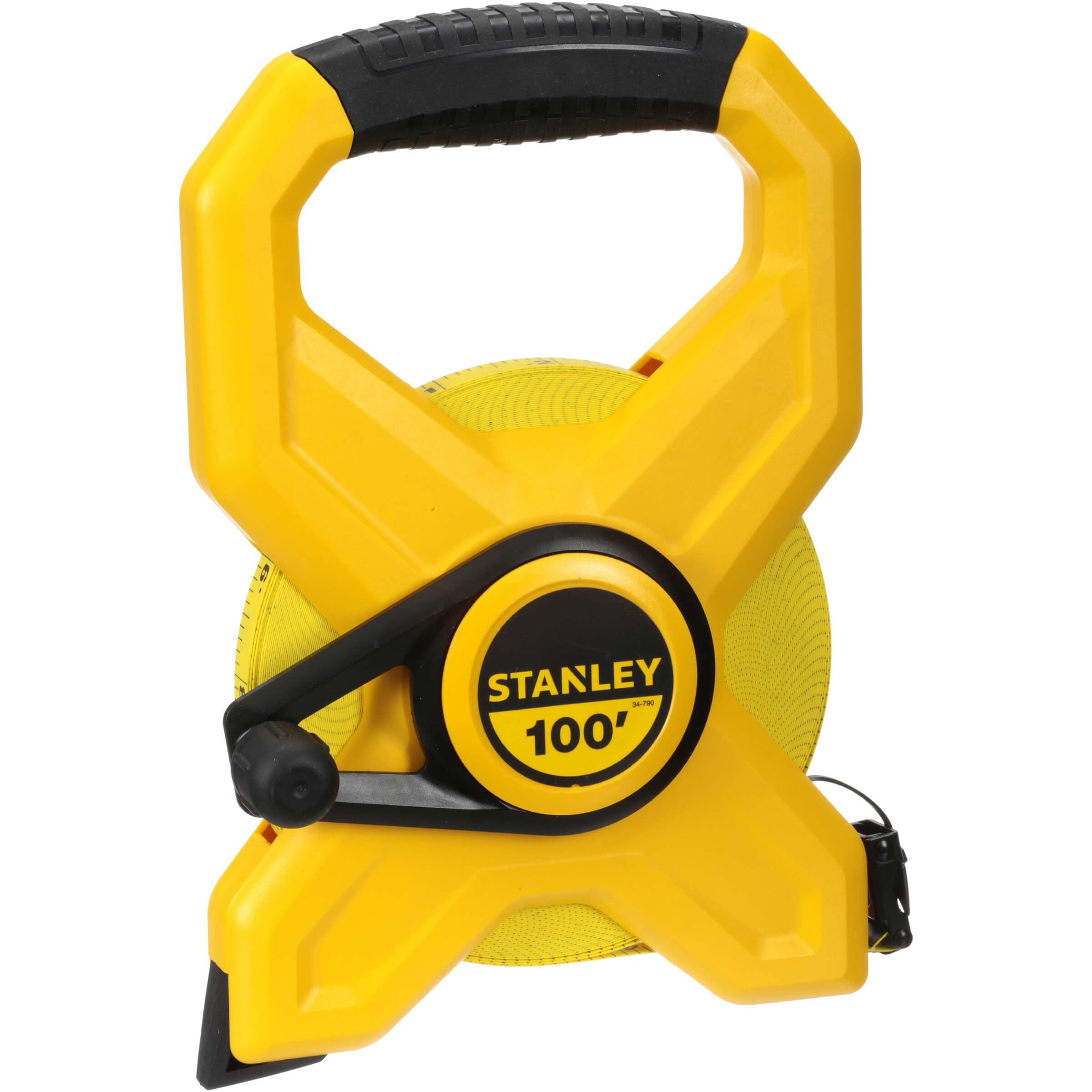 STANLEY 34-790 100-Foot Open Reel Fiberglass Long Tape Measure