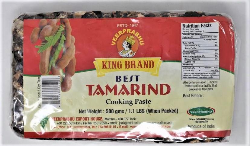 King Tamarind slab - 500 g