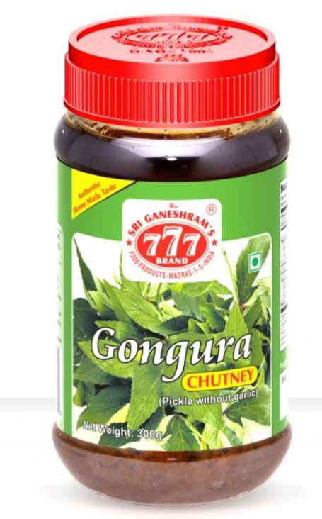 777 Gongura Leaf Pickle - 300G