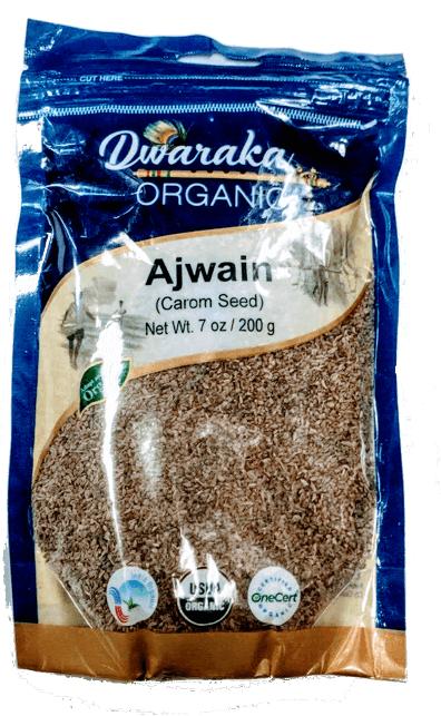 Organic Ajwain Seeds 7 oz