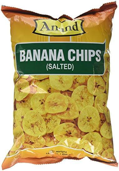 Anand Banana Chips salted 14 oz