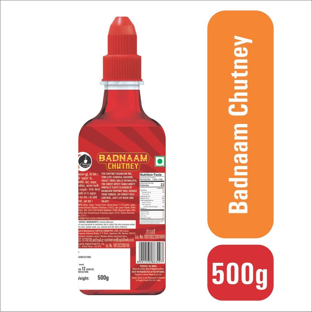 Chings Badnaam Chutney 500g