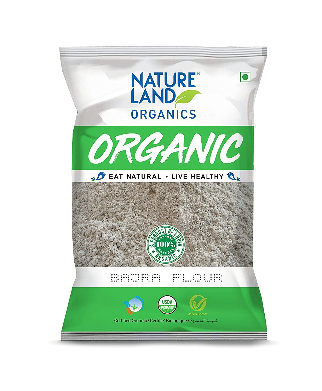 Nature Land ORGANIC Bajra Flour 2 lb