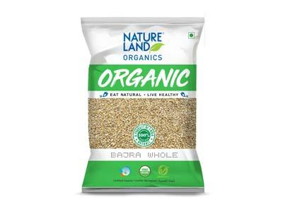 Nature Land ORGANIC Bajra Whole (Pearl Millet) 2 lb