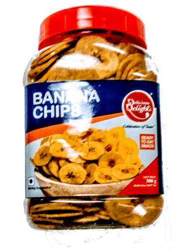 Delicious Delight banana/plantain chips - 300 g