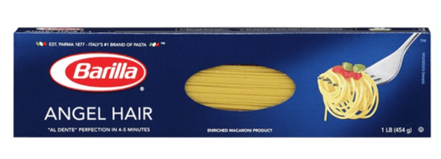 Barilla Angel hair Pasta - 1 Pack