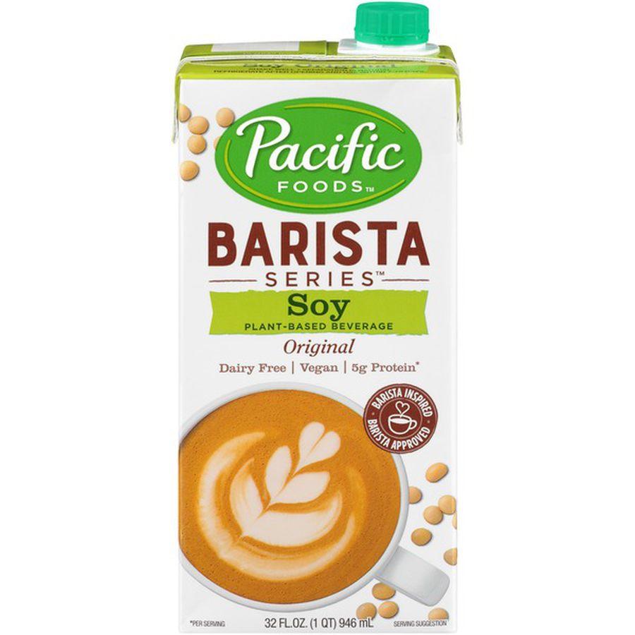 Barista Pacific Soy Milk 32 Fl Oz