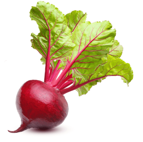 Organic Beets with leaf - 1 bunch