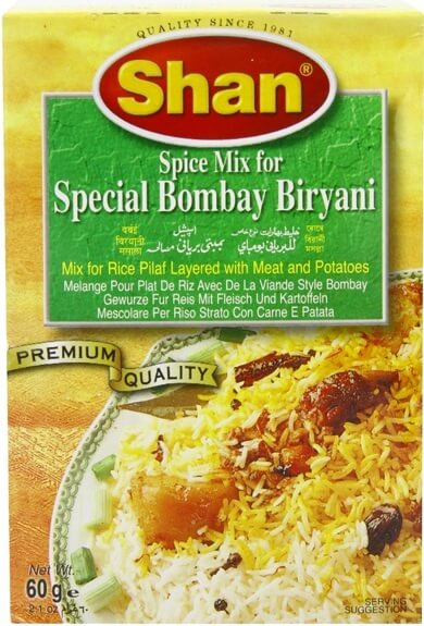 Shan Bombay Biryani Masala - 60g