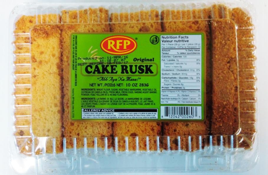 Crispy cake rusk  - 650 gm