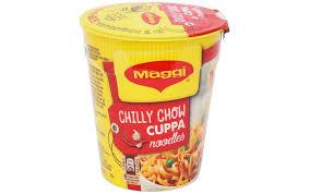 Maggi Masalla Cuppa Noodles Chilli Chow - 70g