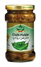 Mehran Green Chilli Pickle - 1 Kg