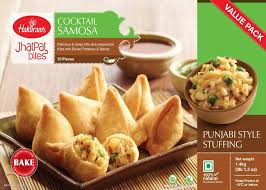 Haldirams Cocktail Samosa (Frozen) 650 g
