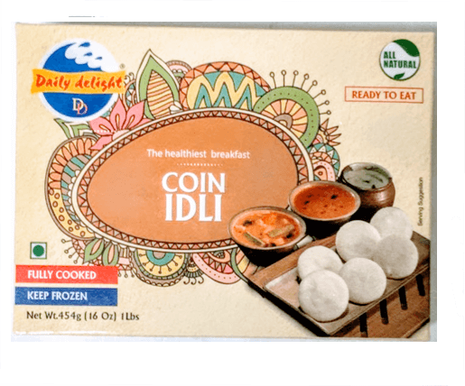 Daily Delight Coin idli (Frozen) - 1 lb