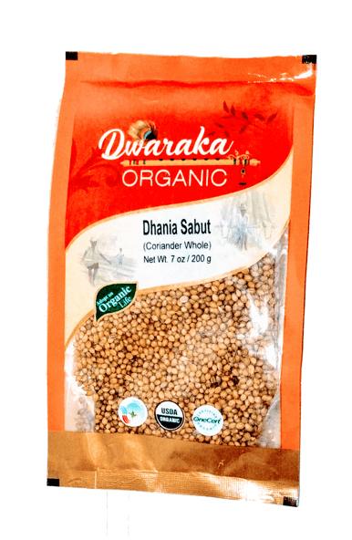 Organic corriander Whole 120 g