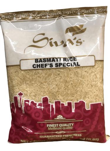 Siva Chef Special Basmati Rice - 4 Lb
