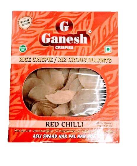 Ganesh Rice Crispie Red Chilli - 150g