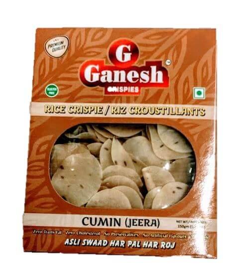 Ganesh Rice Crispie Cumin (Jeera) - 150g