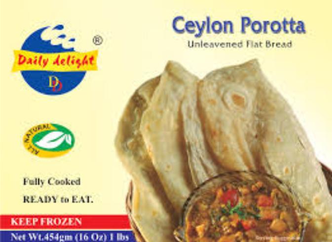 Daily Delight Ceylon Porotta (Frozen) - 1 lb