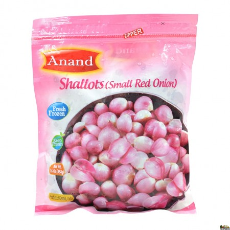 Anand Frozen Shallots / Small Red Onions - .88lb