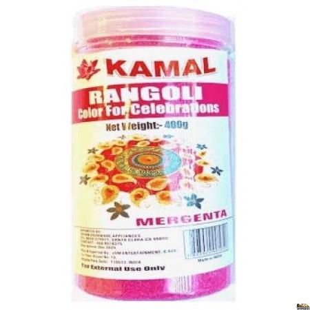 Kamal Rangoli Color Pink - 400 Gm