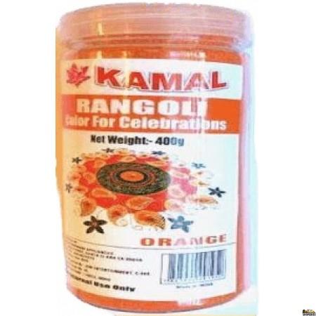 Kamal Rangoli Orange Color - 400 Gm