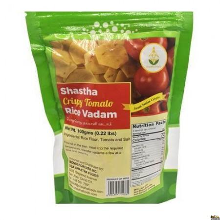 Shastha Crispy Tomato Rice Vadam  - 100 Gm