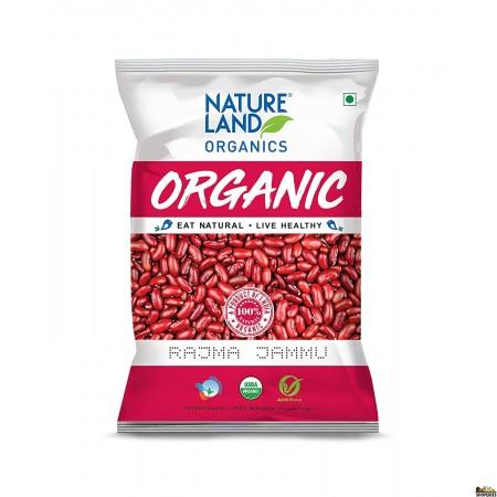 Nature Land ORGANIC Dark Red Kidney Beans (Rajma) - 5 lb
