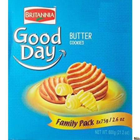 Britannia Good Day Butter Cookie Famliy Pack - 600g