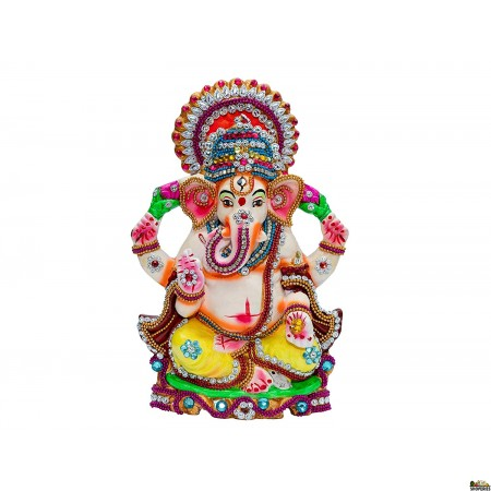 Eco-friendly dissolvable Ganesh Idol - DG01