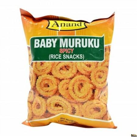 Anand Baby Muruku Spicy - 200 Gm