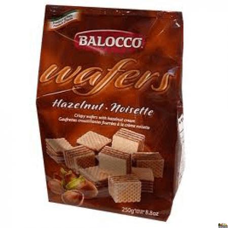 Balocco Chocolate Wafers Haz (crema Nocciola) - 8.8 Oz