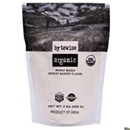 Bytewise Organic Wheat Maida - 2 Lb
