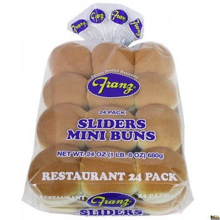 Franz Slider Mini Buns For Paav Bhaji - 24 Oz - 24 Count
