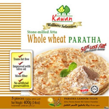 Kawan Wellness Whole Wheat Paratha - 5 Pc * 80 Gm