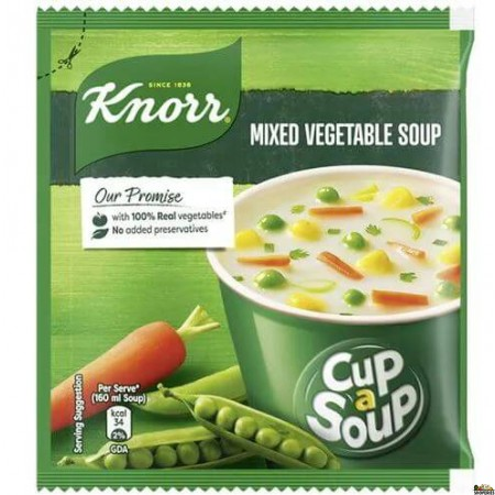 Knorr Soups - Cup A Soup Mixed Vegetable Soup - 17 Gm Pouch