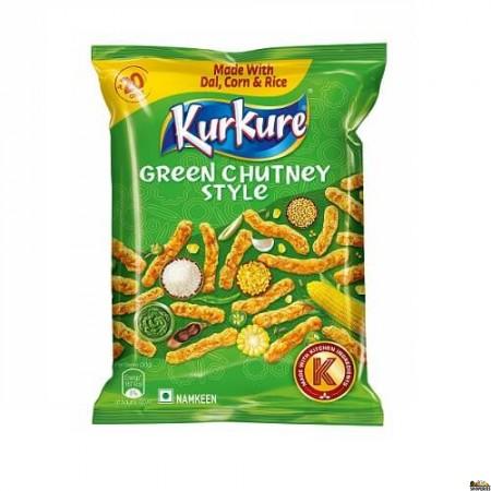 Kurkure Rajasthani - 90 Gm (green Chutney Style)
