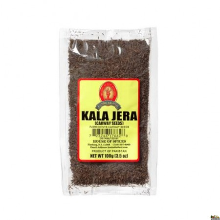 Laxmi Kala Jeera / Black Cumin Seeds - 100 Gm