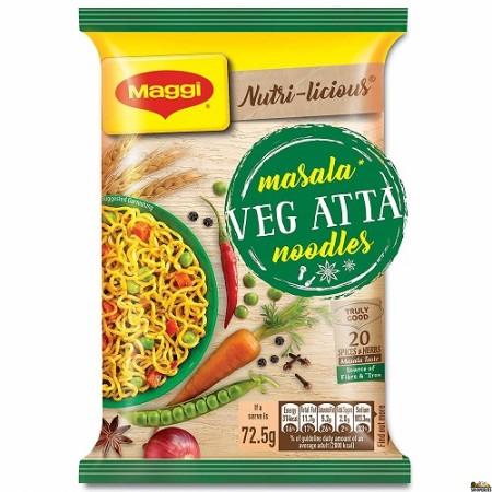 Maggi Veg Atta Noodles - 70 Gm