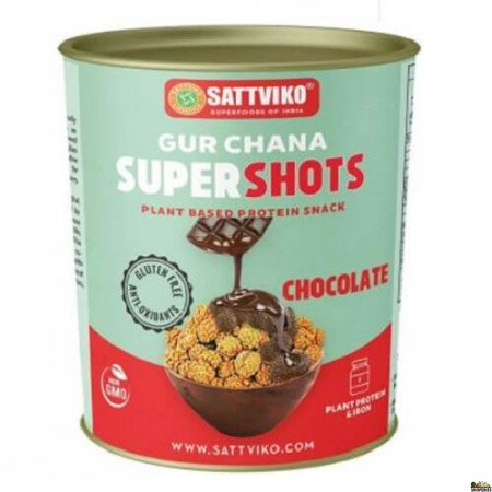 Sattviko Chocolate Gur Chana - 160 Gm