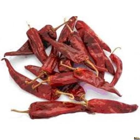 Siva Whole Red Chilli - 1 Lb
