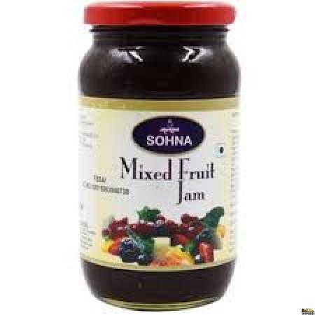 Sohna Mixed Fruit Jam - 500 Gm