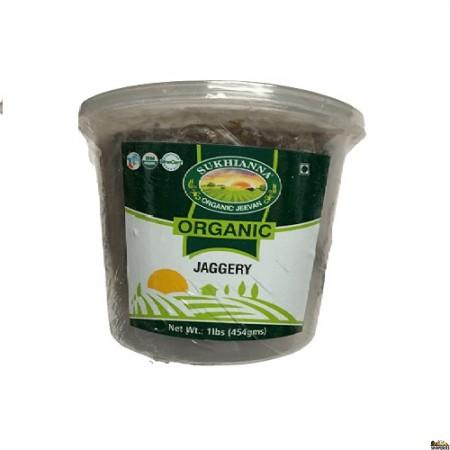 Sukhianna Organic Jaggery Block - 1 Lb