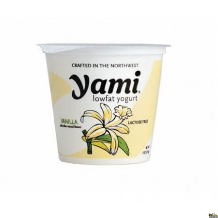 Yami Low fat Yogurt Vanilla - 6 Oz