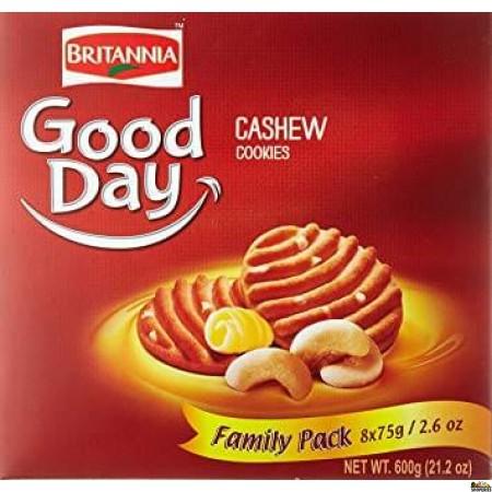 Britannia Good Day Cashew Biscuits Famliy Pack - 600g