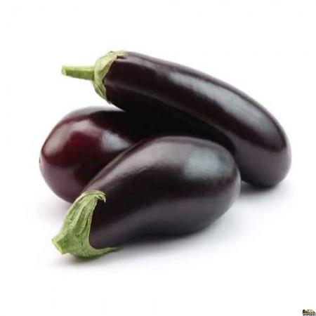 Organic American eggplant - 1 count