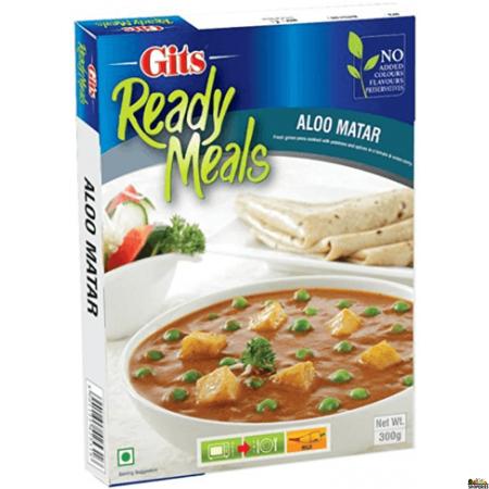 GITS Ready to eat Aloo Mutter 300gms